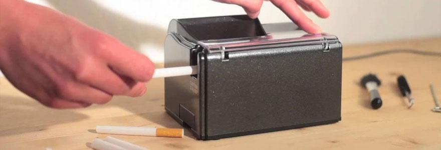 Opter pour la tubeuse pour fabriquer soi même ses cigarettes